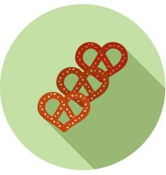 pretzels vector image