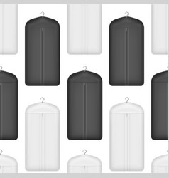 realistic detailed 3d white and black blank vector image