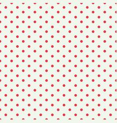 red dot seamless pattern design for wallpaper vector image