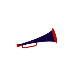 trumpet graphic design template isolated vector image