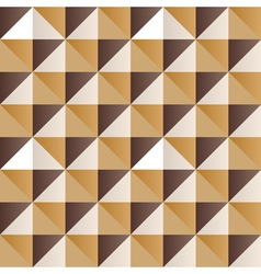 Abstract yellow triangles vector image vector image