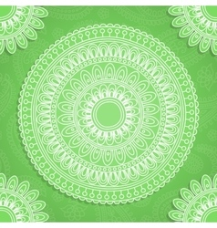 Indian style background vector image vector image