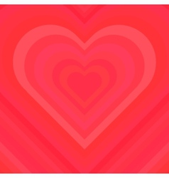 Abstract Colorful Valentine Background vector image