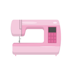 Modern model of electronically controlled sewing vector