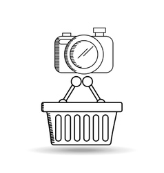 social marketing design vector image