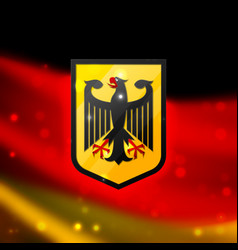 Coat of Arms of Germany vector image