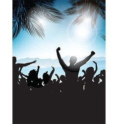 summer party background 0207 vector image