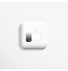 Web icon 3d design vector image