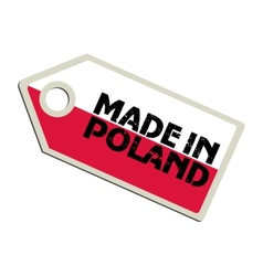 Made in Poland vector image vector image
