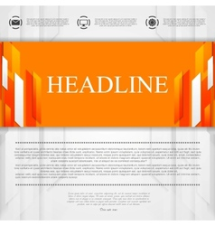 Bright corporate abstract background vector