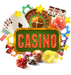 Casino Frame vector