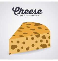 fresh cheese design vector image