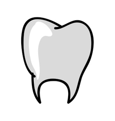 tooth medical icon image vector image