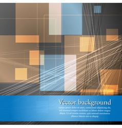 Abstract concept template vector image vector image