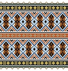 Trendy contemporary ethnic seamless pattern vector