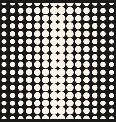 half tone dots pattern halftone circles texture vector image
