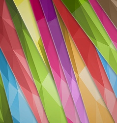 abstract background color inclined lines vector image