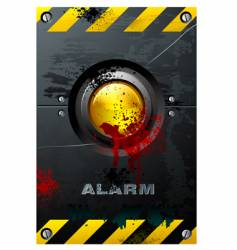 yellow button vector image vector image