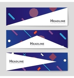 Abstract layout background for web and vector image vector image