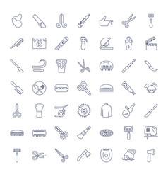 49 cut icons vector