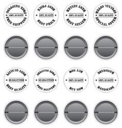 Badges sale label vector image