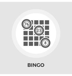 Bingo Icon Flat vector image