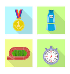 Isolated object sport and winner icon vector