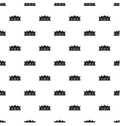 King crown pattern vector