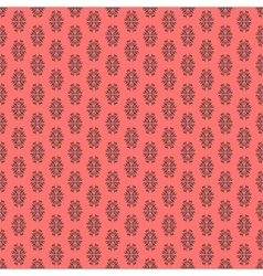 Calligraphic element seamless pattern vector image