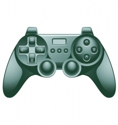 video game controller pad vector image