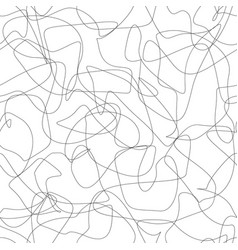 smooth crossed lines seamless pattern vector image vector image
