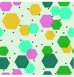 abstract geometric design print pattern vector image