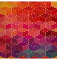 Background of repeating geometric rhombs Spectrum vector