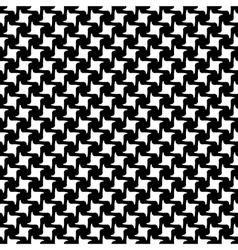 Black white abstract seamless pattern vector