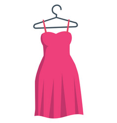 image dress or color vector image