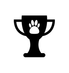 pet champion icon vector image