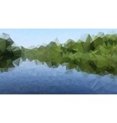 Triangle river vector