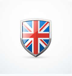england shield icon vector image