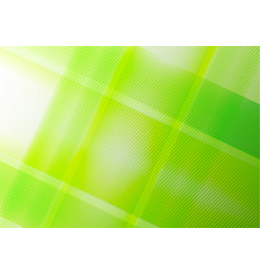 abstract green nature geometric shine and layer vector image
