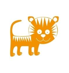 Animal cartoon icon image vector