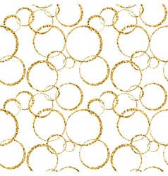 Gold circle chaotic white 1 vector