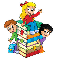Kids thematic image 4 vector