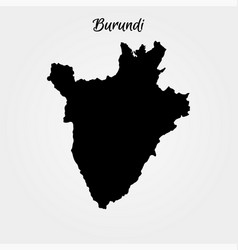 map burundi vector image