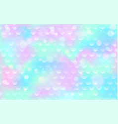 mermaid scale pattern gradient fish texture pink vector image