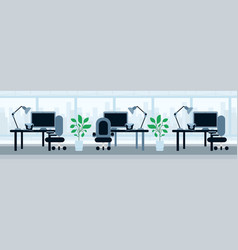 office working desk lunch break asian food concept vector image