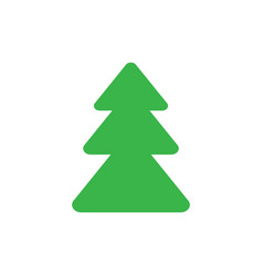 pine tree icon graphic design template vector image