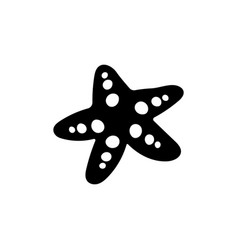 star fish icon design template isolated vector image