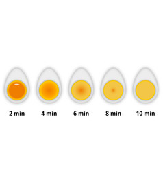variations readiness boiled chicken vector image