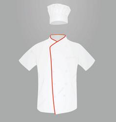 cook uniform vector image