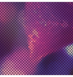 Abstract lilac mosaic background vector